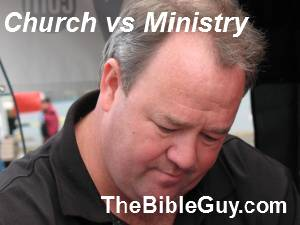 Church vs Ministry